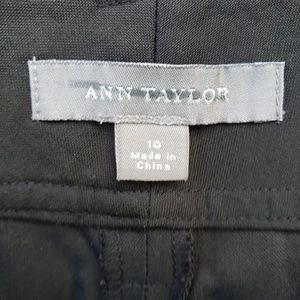 Ann Taylor pants Black, wide leg. Size 10